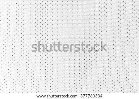 White Uniform Texture - stock photo