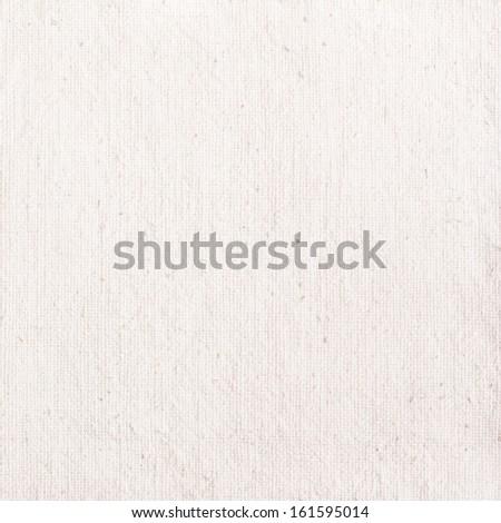 White Vintage Fabric Texture - stock photo
