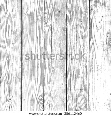 White vintage wood surface - stock photo