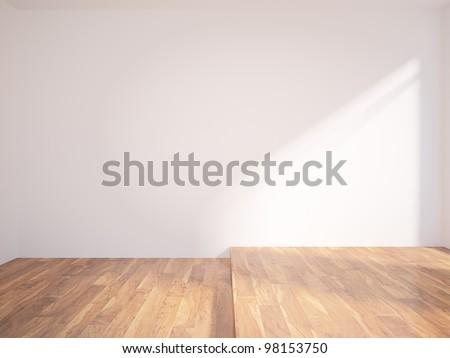 white wall - stock photo