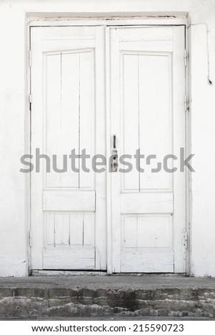 White Wood Door Texture old wood door stock images, royalty-free images & vectors