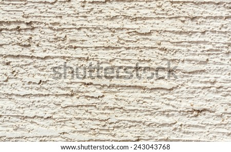 White wall background with deep and thick scratched texture - stock photo