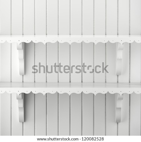 white shelves stock photos images pictures