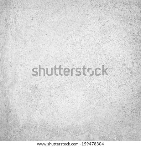 white wall texture background and delicate vignette - stock photo