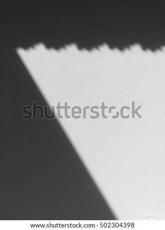 white wall with shadow
