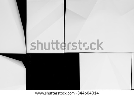White wallpaper background for cover design , poster , brochure , banner.  - stock photo