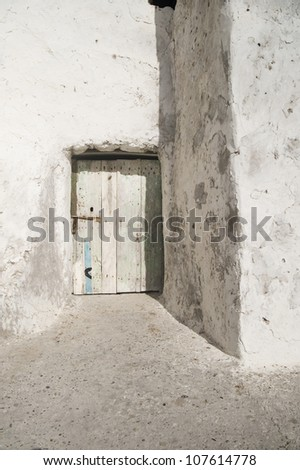 White-washed Doorway