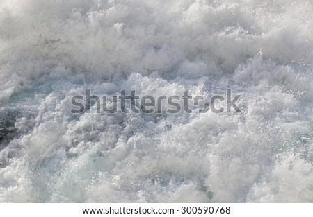 White water - stock photo
