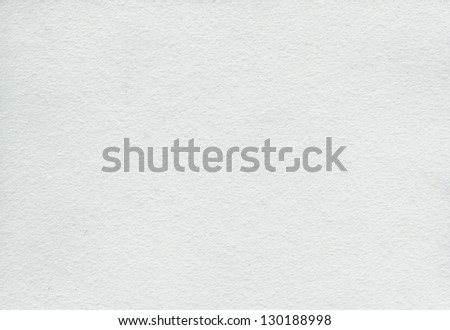 white watercolor paper - stock photo
