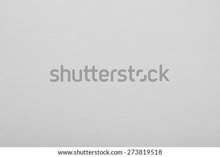 White watercolor paper, eggshell texture - stock photo