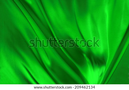 White wavy Silk background texture  - stock photo