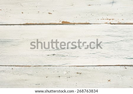 White weathered wooden boards - stock photo