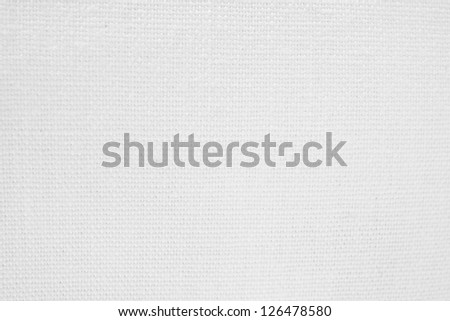 White weave material. material of linen as a background or texture.