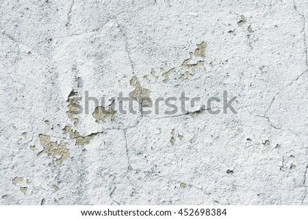 White white cement texture - stock photo
