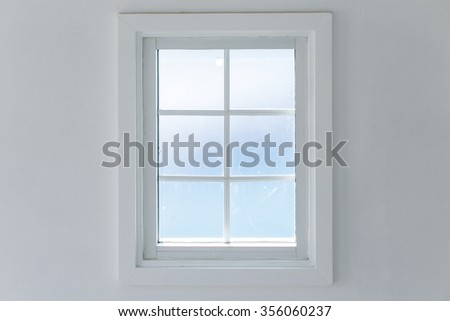 White Window Frame Stock Images, Royalty-Free Images & Vectors ...