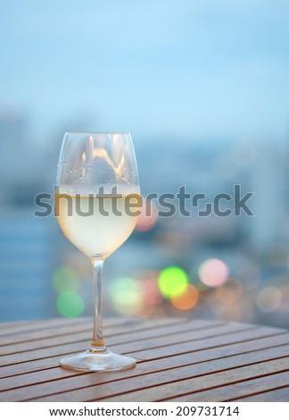 White Wine - stock photo