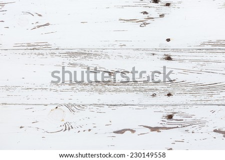 white wood old weathered texture background - stock photo