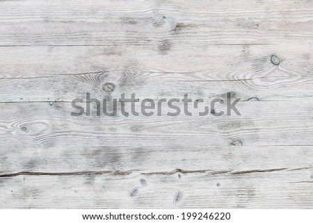 White wood surface as background - stock photo