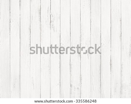 white wood texture background - stock photo