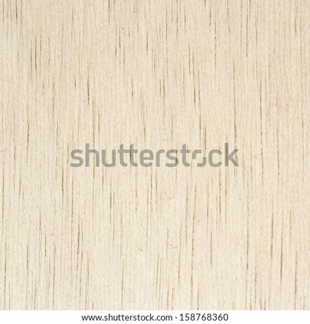 White wood texture (Ochroma pyramidale) for woodwork - stock photo