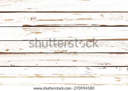 white wood texture pattern background - stock photo