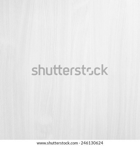 White wood wall background - stock photo