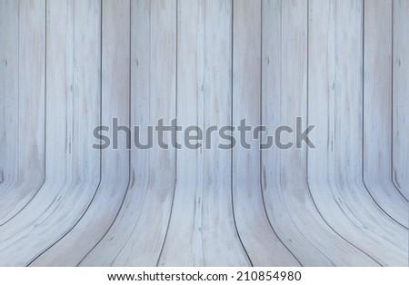 White wood warp wall texture background. - stock photo