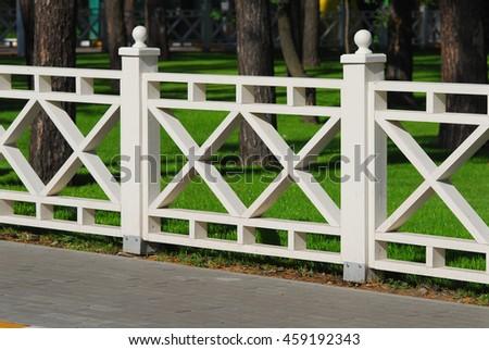 Modren White Split Rail Fence Wooden Decorative Long In Inspiration Decorating
