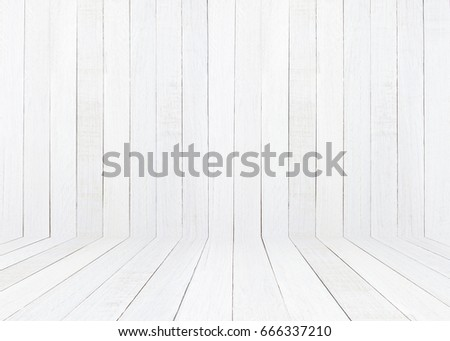 white wooden floor over plank wooden texture background