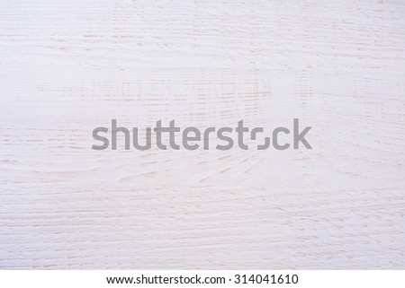 White wooden table texture - stock photo