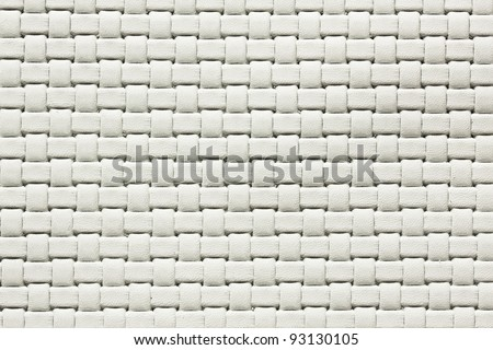 white woven leather. See my portfolio for more - stock photo