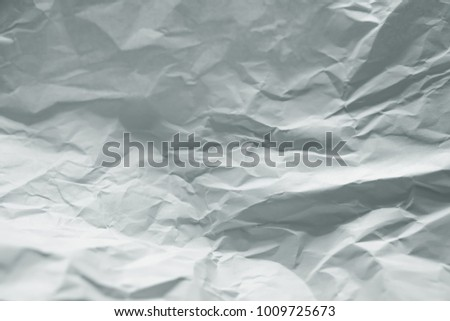 white wrinkle paper background
