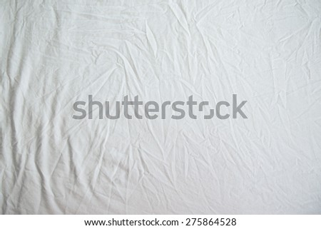 fabric sheet texture. white wrinkled fabric texture for back ground sheet c