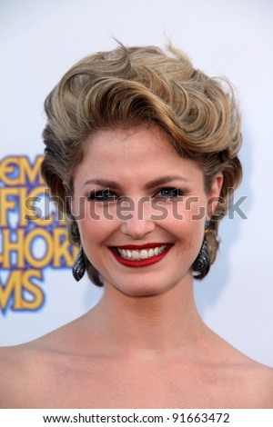 Whitney Able at the 37th Annual Saturn Awards, Castaway, Burbank, CA. 06-23-11 - stock photo