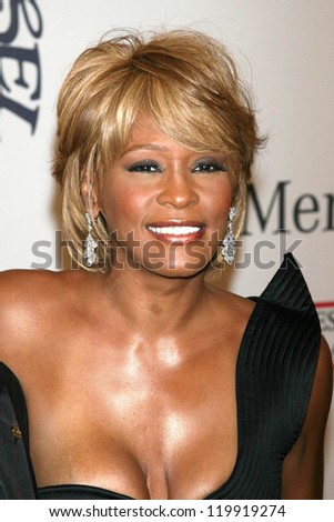 Whitney Houston at the 17th Carousel of Hope Ball to benefit The Barbara Davis Center for Childhood Diabetes. Beverly Hilton Hotel, Beverly Hills, CA. 10-28-06 - stock photo