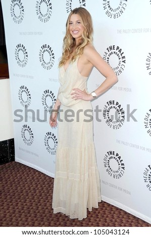 Whitney Port  at 'The Hills' presented by the Twenty-Sixth Annual William S. Paley Television Festival. Arclight Cinerama Dome, Hollywood, CA. 04-21-09 - stock photo