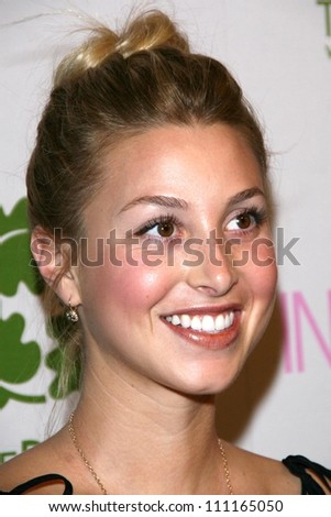 Whitney Port at the Intermix Boutique Opening. Intermix, Los Angeles, CA. 09-25-07 - stock photo