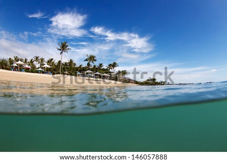 Whitsundays Island Destination - stock photo
