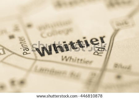 Whittier, California. USA