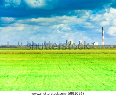 Wide Green Plain