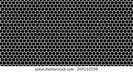 Widescreen background with a crystal lattice - stock photo