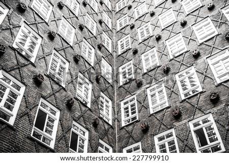 widow pattern at Europe - stock photo