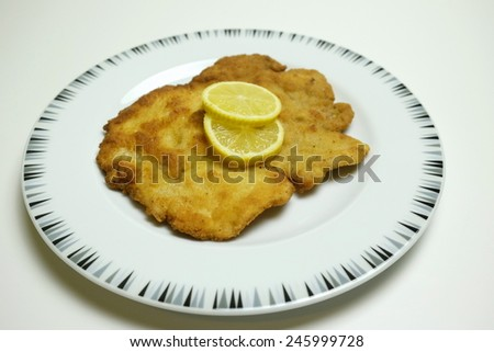 Wiener Schnitzel 7 - stock photo