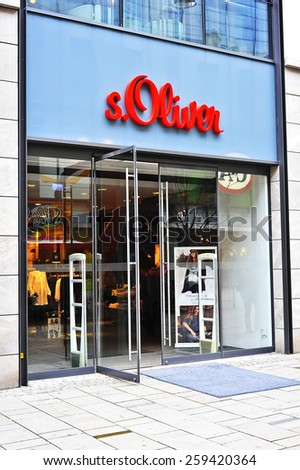 WIESBADEN,GERMANY-FEB 18:sOliver fashion store on February 18,2015 in Wiesbaden,Germany