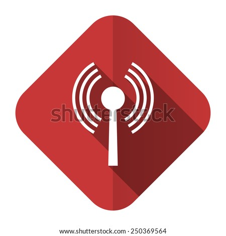wifi flat icon wireless network sign