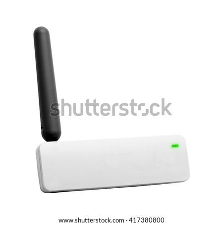 WIFI router - stock photo