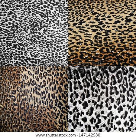 Wild Animal pattern collage - stock photo