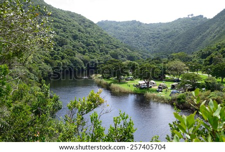 Wilderness National Park - Garden Route - South Africa - stock photo