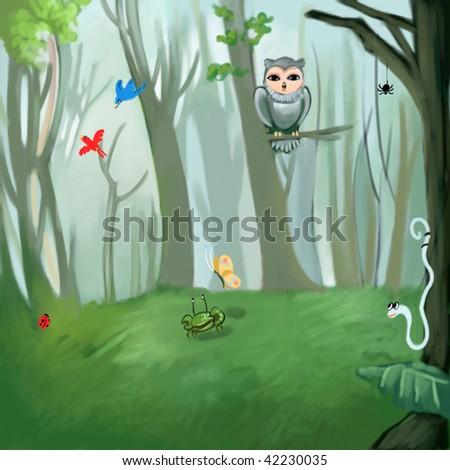 wildlife (search the word nikos for more) - stock photo