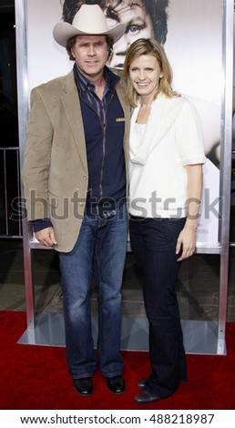 Will Ferrell and wife Viveca at the World premiere of 'Walk Hard' held at the Grauman's Chinese Theater in Hollywood, USA on December 12, 2007.